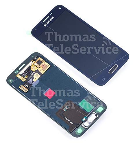 Original Samsung Galaxy S5 MINI SM-G800F G800F LCD Display Touchscreen schwarz black GH97-16147A