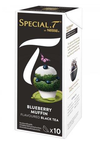 Original Special T - Blueberry Muffin - Schwarztee - 10 Kapseln (1 Packung) für Nestlé Tee Maschinen - hier bestellen
