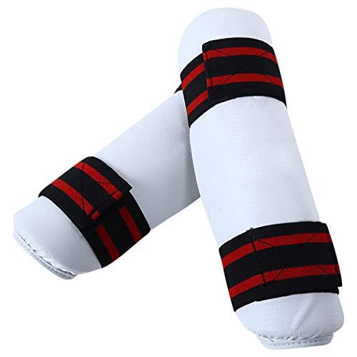 Scheenbeschermers Verstelbare Band Beschermende Gear Been Guard Arm Guard voor Taekwondo