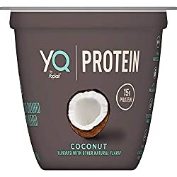 YQ by Yoplait Coconut Single Serve Yogurt Made with Cultured Ultra-Filtered Milk, 5.3 oz Cup