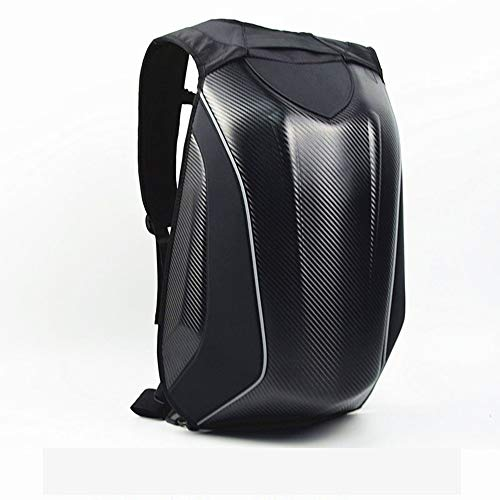 Hancoc Motorcycle Hard Case Backpack Backpack Backpack Motorcycle Hard Shell Carbon Fiber Racing Backpack Waterproof