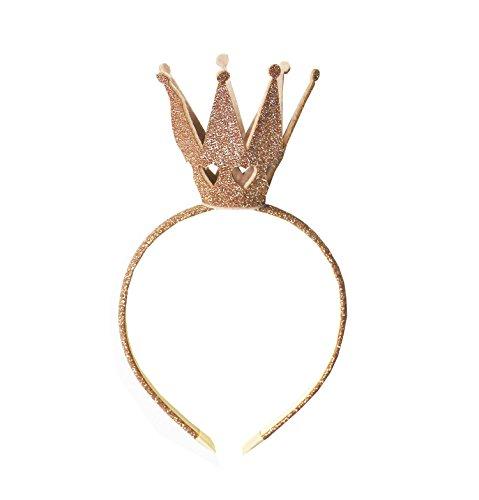 Kirei Sui Girls Shiny Crown Hairband Gold