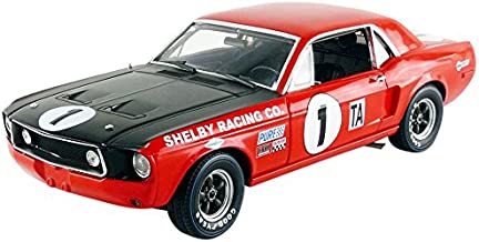 1968 Shelby Racing Trans Am Mustang #1 - Jerry Titus Daytona Champion 1:18 Scale Diecast Model by Acme