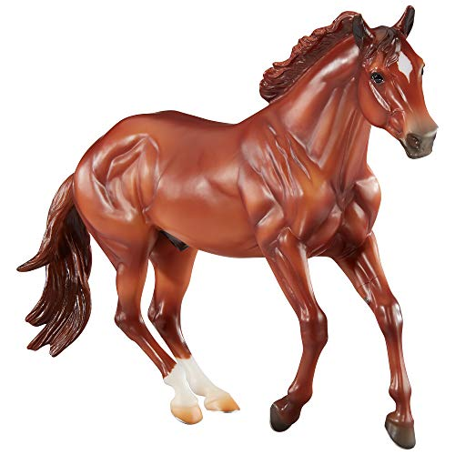 Breyer Horses Traditional Series Checkers | Mountain Trail Champion | Horse Toy Model | 12' x 8' | 1:9 Scale Horse Figurine | Model #1831