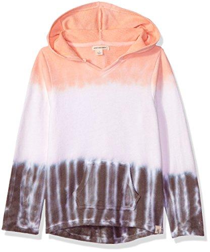 Burt's Bees Baby Baby Sweatshirts, Lightweight Zip-Up Jackets & Hooded Coats, Organic Cotton, Sunrise Dip Dye, 6X Years