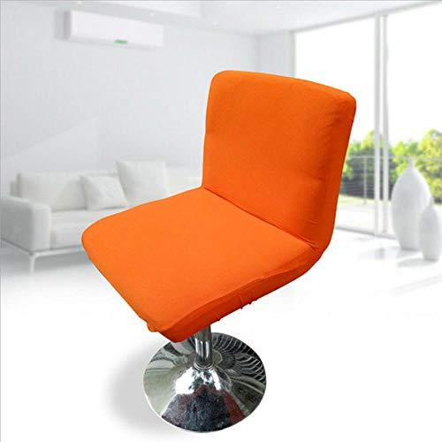 XCVB Krukhoes Elastisch rekbaar meubilair Barkruk Stoelhoes Hoes waterdicht, oranje