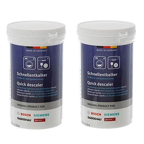Bosch 00311918 Quick Descaler for Washing Machines and Dishwashers 2-Pack