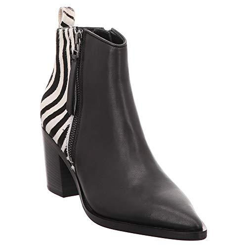 Kennel & Schmenger   Stiefelette - schwarz   Zebra, Farbe:schwarz, Größe:38.5