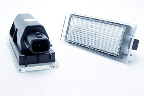 2 x LED Canbus pour plaque d'immatriculation de Clio 3 III