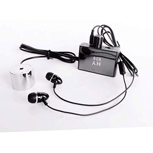 Sistema de Amplificador de micrófono de sonda y Contacto/sonda para Escuchar a través de la Pared