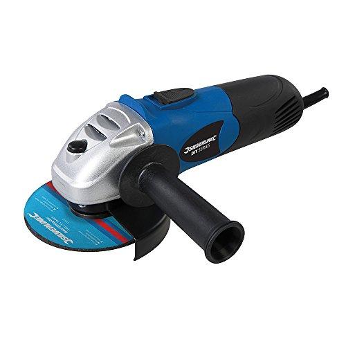 Silverline Tools 571295 DIY 650W Angle Grinder 115mm, 650 W, Blue