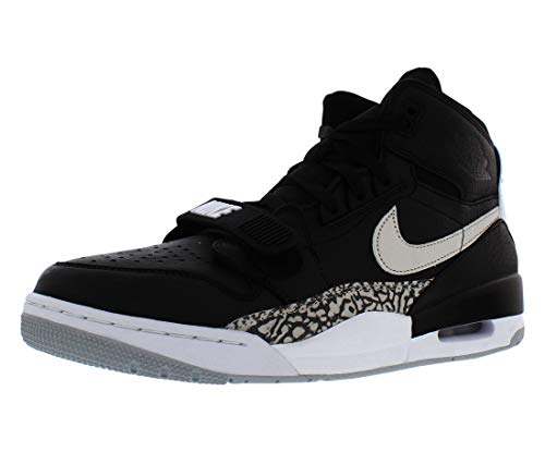 Nike Air Jordan Legacy 312, Chaussures de Fitness Homme, Noir (Black/White 001), 44.5 EU