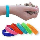 Pulsera personalizada SOS para niños de silicona - Bienpegado - utilizarlas en varios tamaños -...