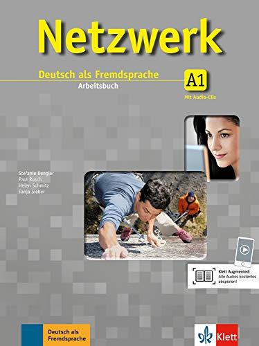 Netzwerk A1: Deutsch als Fremdsprache. Arbeitsbuch mit 2 Audio-CDs