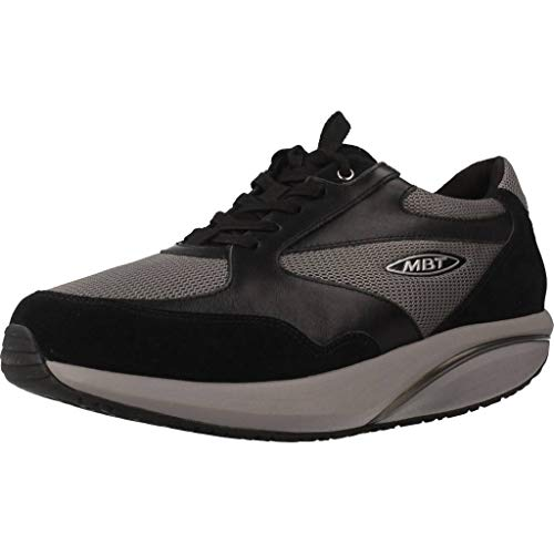 MBT Herren SINI LUX M Sneaker, Grau Schwarz Grau 1065d, 41 EU