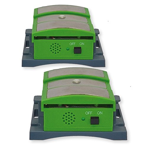 ISOTRONIC Marder-Schutz Mobil für Auto Haus, Marderschreck mit Ultraschall Elektroschock