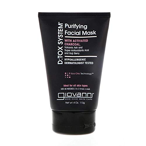 Giovanni Purifying Facial Mask - Dermatologist Tested D:Tox System 4 Ounce (Pack of 1)