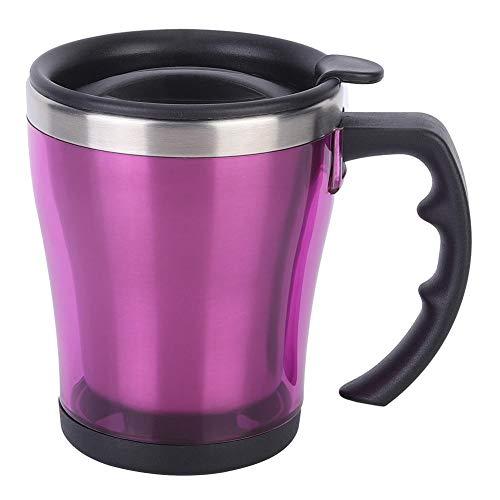 Taza de vacío de cocina, taza de vacío de acero inoxidable de doble capa, taza para beber café, taza para uso en la oficina en casa
