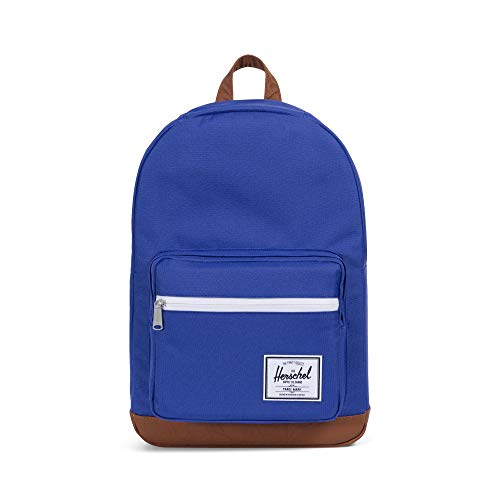 Herschel Supply Co, 10303 多目的バックパック, Deep Ultramarine/Tan Synthetic Leather, One Size