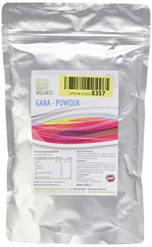 GABA PULVER | 500g Großpackung | - 100% Ohne Zusätze | Reines Gamma Amino Buttersäure Pulver | Aminosäuren | HGH - Wachstumshormon-Ausschüttung | Muskelaufbau Regeneration, Schlaf-Qualität