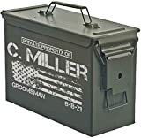 Personalized Engraved Ammo Can Storage Box Custom (30 Cal)