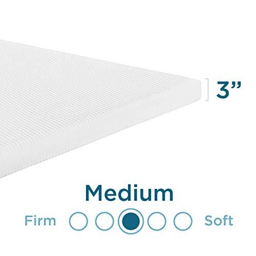 TEMPUR-Adapt + Cooling 3-Inch Queen Mattress Topper, Medium Luxury Premium Foam, Washable Cover