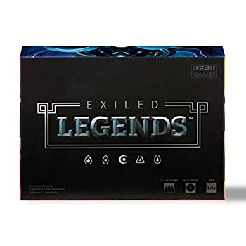 Exiled Legends Base Game - from The Creators of Unstable Unicorns - A Strategic Card Game for Teens and Adults