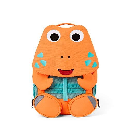 Affenzahn Großer Freund - Kindergartenrucksack für 3-5 Jährige Kinder im Kindergarten und Kinderrucksack für die Kita - Krabbe - Orange