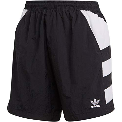 adidas LRG Logo Short, Pantaloncini Sportivi Donna, Black/White, 40