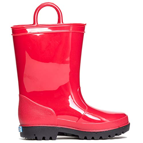Red Baby Rain Boots