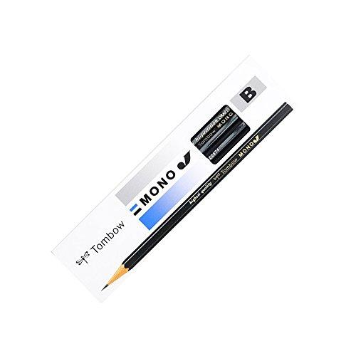トンボ鉛筆 鉛筆 MONO モノJ B 1ダース MONO-JB