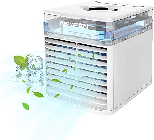 NexFan Condizionatore d'aria Portatile 4 In 1 Multifunzione Raffreddatore Ventilatore per Casa e Ufficio