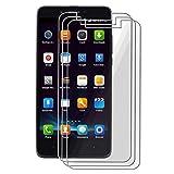 CXKJ [3 Piezas Protector Pantalla para Elephone P6000 (5.00 Pulgada), Cristal Templado 9H Alta Definicion Glass Vidrio Film Templado Screen de Pantalla Protector para Elephone P6000