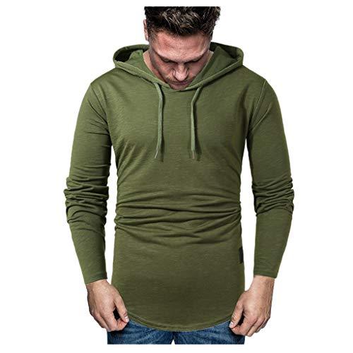 Feytuo Hoodie Herren Winter Angebote Mantel Kurz Slim Fit Schwarz Outwear Sport Muster Warm Sweatshirt Langarm Jacke mit Kapuze Elegant Hoodie Grau Meliert