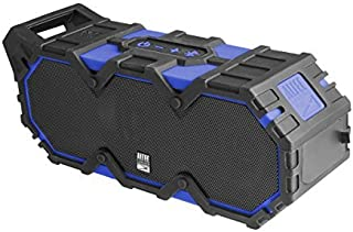 New IMW888-SBLUE Super Lifejacket Rugged Waterproof Bluetooth Speaker, Water Resistant, Multiple Pairing Of Speakers, Built-In Lithium Battery, Aluminum Exterior, Blue