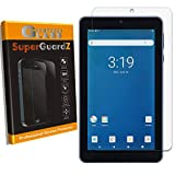 [2-Pack] for Onn Surf 7' Screen Protector [Tempered Glass], SuperGuardZ, 9H, 0.3mm, 2.5D Round Edge, Anti-Scratch, Anti-Bubble [Lifetime Replacement]