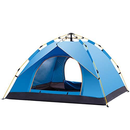 M STAR Tienda Automática Al Aire Libre 3-4 Personas Al Aire Libre Ocio Familia Camping Tienda Impermeable