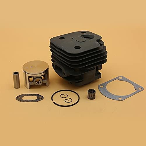 Piezas de repuesto de pistón de cilindro de 48 mm, 50 mm y 52 mm para motor de motosierra de gas Husqvarna 61 268 272 K 272XP 503758172 (tamaño : HUS272 52 mm)