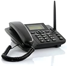 Wireless GSM Desktop Phone - Desktop Style Phone with SIM Card Slot by The Emperor of Gadgets