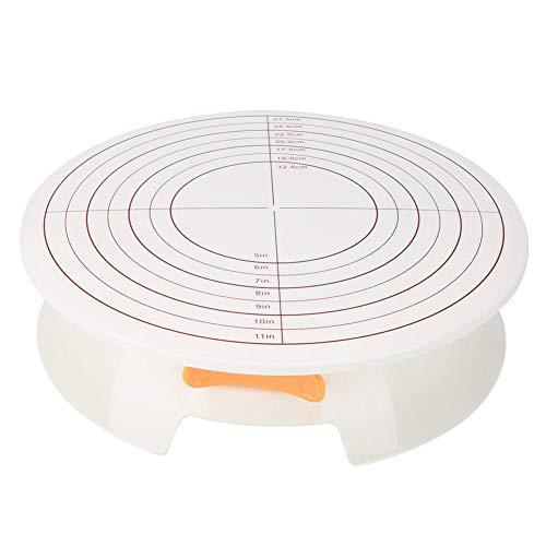 DIY roterende taarthouder basis taart decoreren platenspeler cake bakgereedschap keuken bakgerei bakgerei met gesp taart maken accessoires MEERWEG OPKING