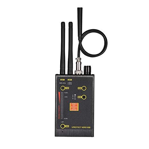 YEHEI Detector Antiespía, Detectores De Cámara Oculta, Detector De RF, Detector De Errores, Buscador De Cámara para Audio Inalámbrico Buscador De Detector De Errores De Cámara