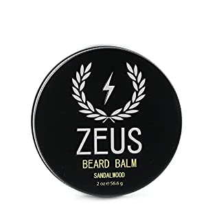 ZEUS Conditioning Beard Balm for Men - 2 Oz - Natural Softening Conditioner for Facial Hair (SCENT: Sandalwood) 4