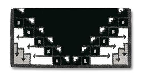 Mayatex Pueblo Schabracke schwarz/anthrazit/asch/Creme