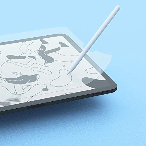 PaperLike mit Nanodots (2 Stück) für iPad Air 2020 10,9 Zoll, iPad Pro 2018 & 2020 11 Zoll Schutzfolie Matt Schreiben Zeichnen wie auf Papier