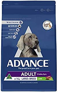 Advance Adult and Senior Large Breed Lamb 15kg Dog Dry Food