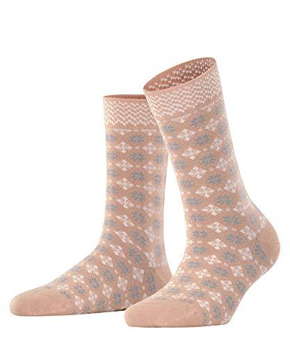 ESPRIT Damen Norwegian W SO Socken, Beige (Camel 5038), 39-42 (UK 5.5-8 Ι US 8-10.5),1 Paar