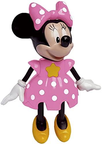 Brinquedos De Meninas Boneca Minnie Mouse Infantil Bolhas De Sabão Articulada Eletrônico Com Som Conta História Elka