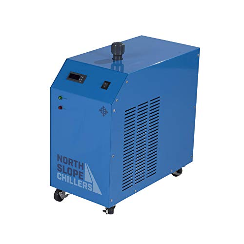 North Slope Chillers - NSC0250-FROST 1/4 Ton/HP Light-Duty Portable Industrial Glycol Chiller, 1.5 Gallon Reservoir Capacity, 3.5 GPM Max (0.25 Hp Water Chiller)