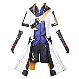 Game Project Cosplay Costumes Albedo Uniforms Halloween Party (M) White
