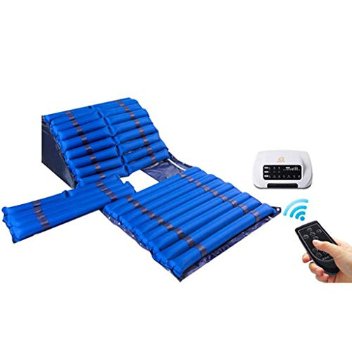 RUIVE Medizinische Anti-Dekubitus-Luftmatratze Tubular Alternating Airflow Pressure Massage PVC-Pad für ältere Patienten Home Hospital Bed